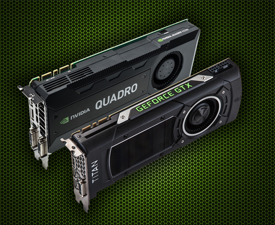 So sánh Card Nvidia Quadro hay GTX